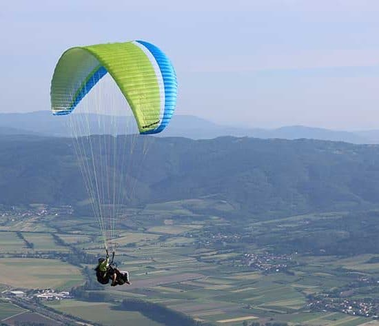 Tandem Flight active tours Vipava Valley