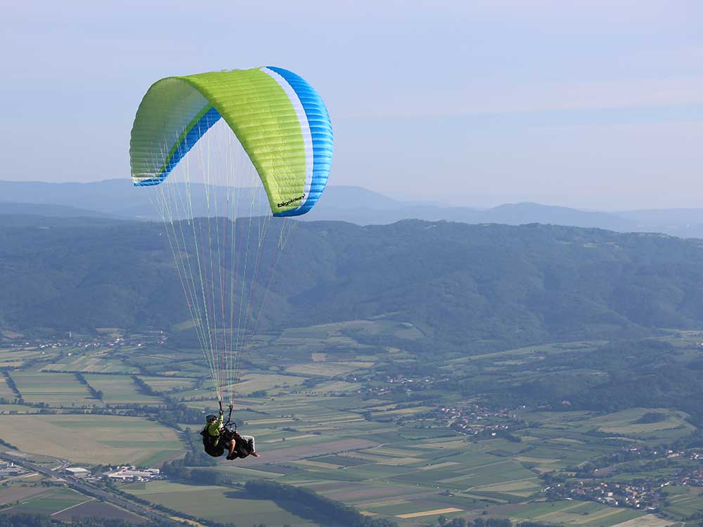 Paragliding Vipava Valley