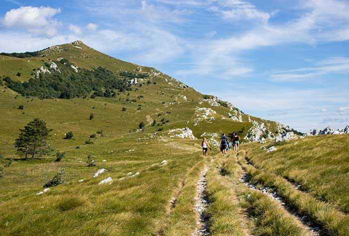 Hiking active tours Vipava Valley